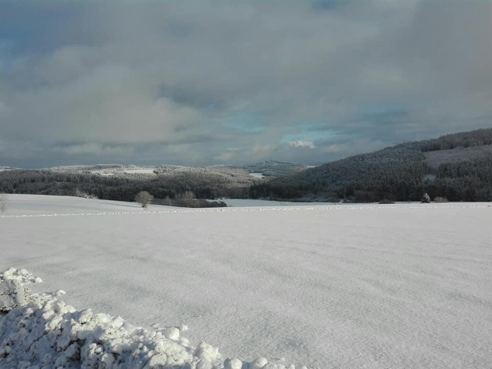 Langlaufen, Schnee Oberfranken, Frankenwald, Skifahren, Schneeschuhwandern