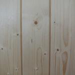 Verkleidung aus Fichtenholz,Badezuber Holzumrandung, Badetonne Fichteholzverkleidung
