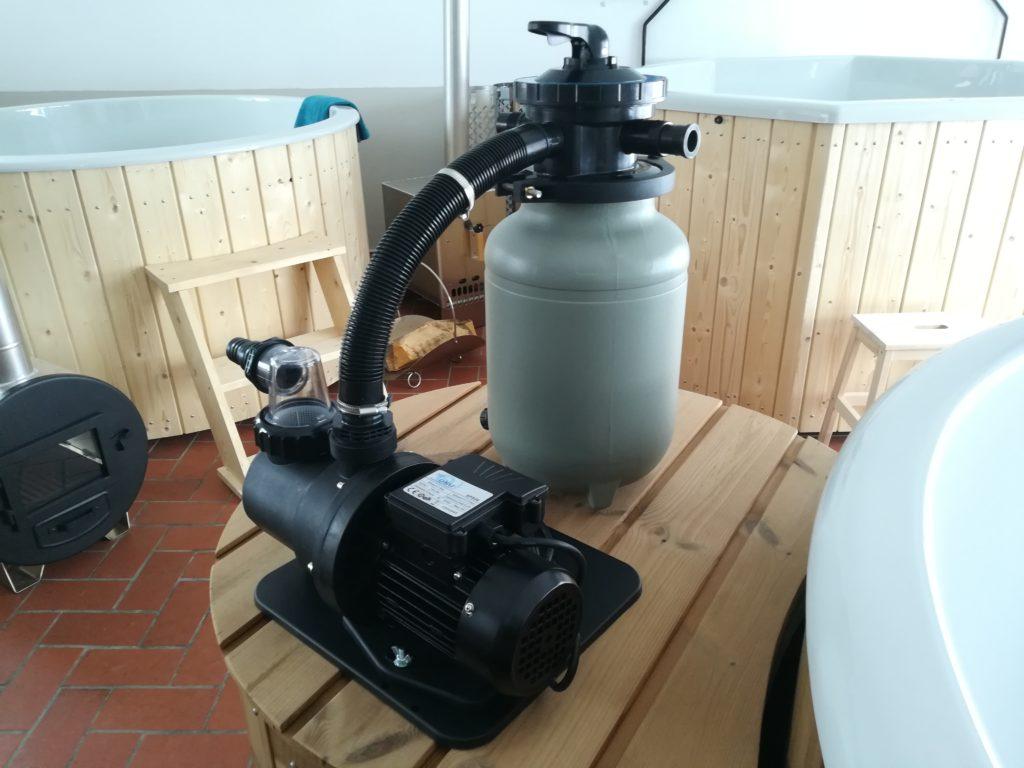 Sandfilter Wasserpflege