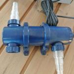UV-Filter, UV-Entkeimer, Filtersystem, Badetonne, Badezuber, Badefass