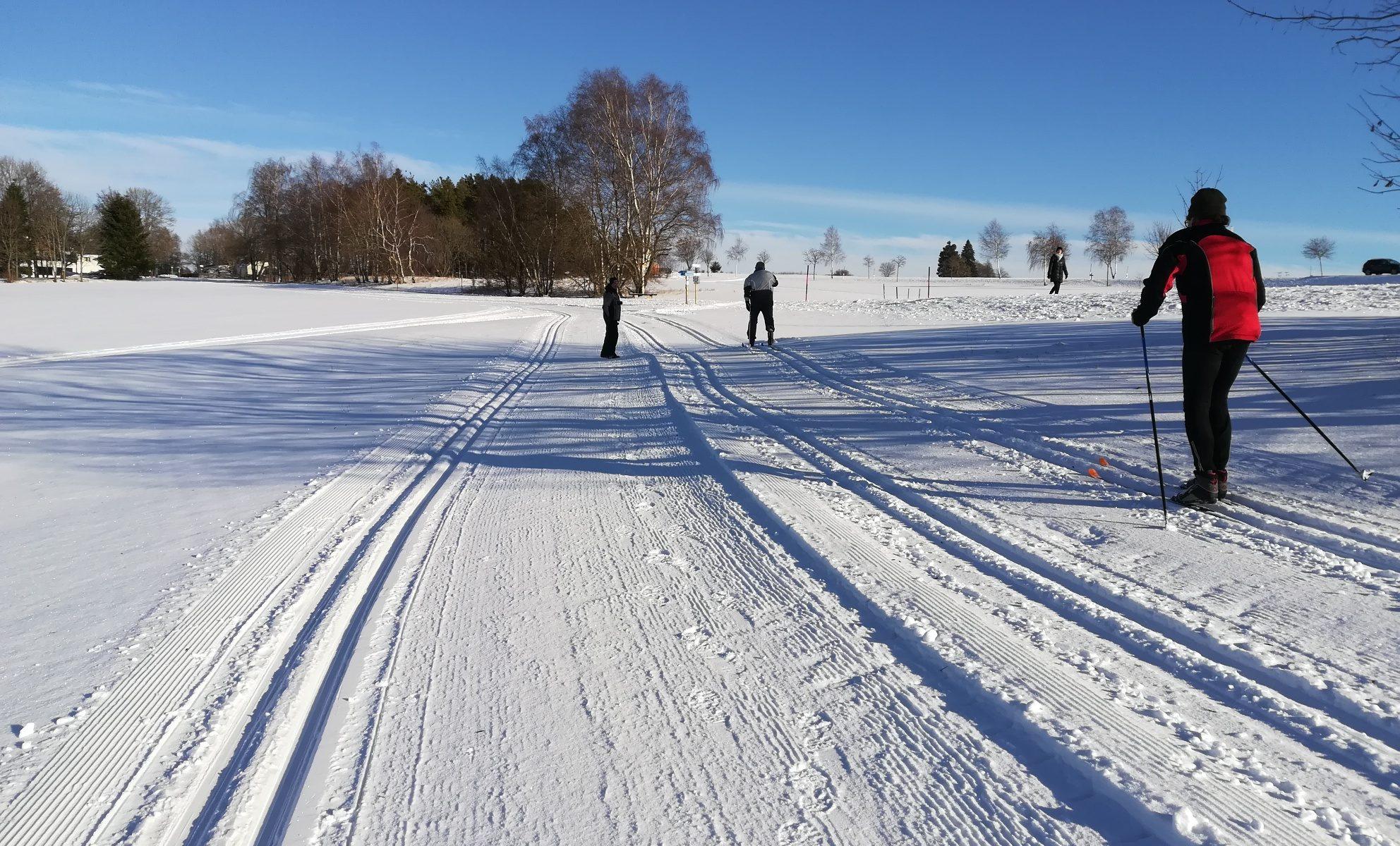 Wintersport im Frankenwald