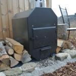 Außenofen mit 30KW, externer Ofen